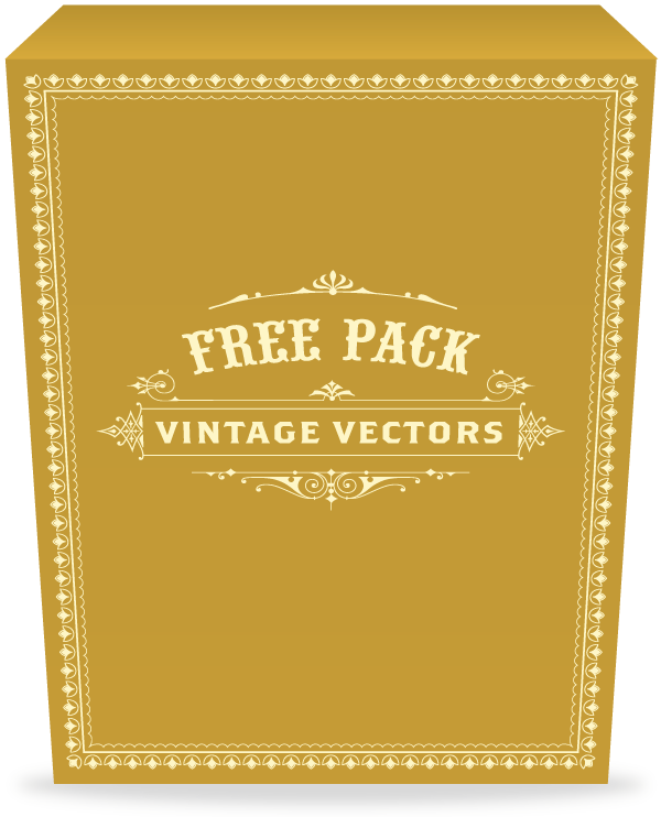 Try This Sample Of Our High Quality Vintage Vectors Free To Use For Any Commercial Work
