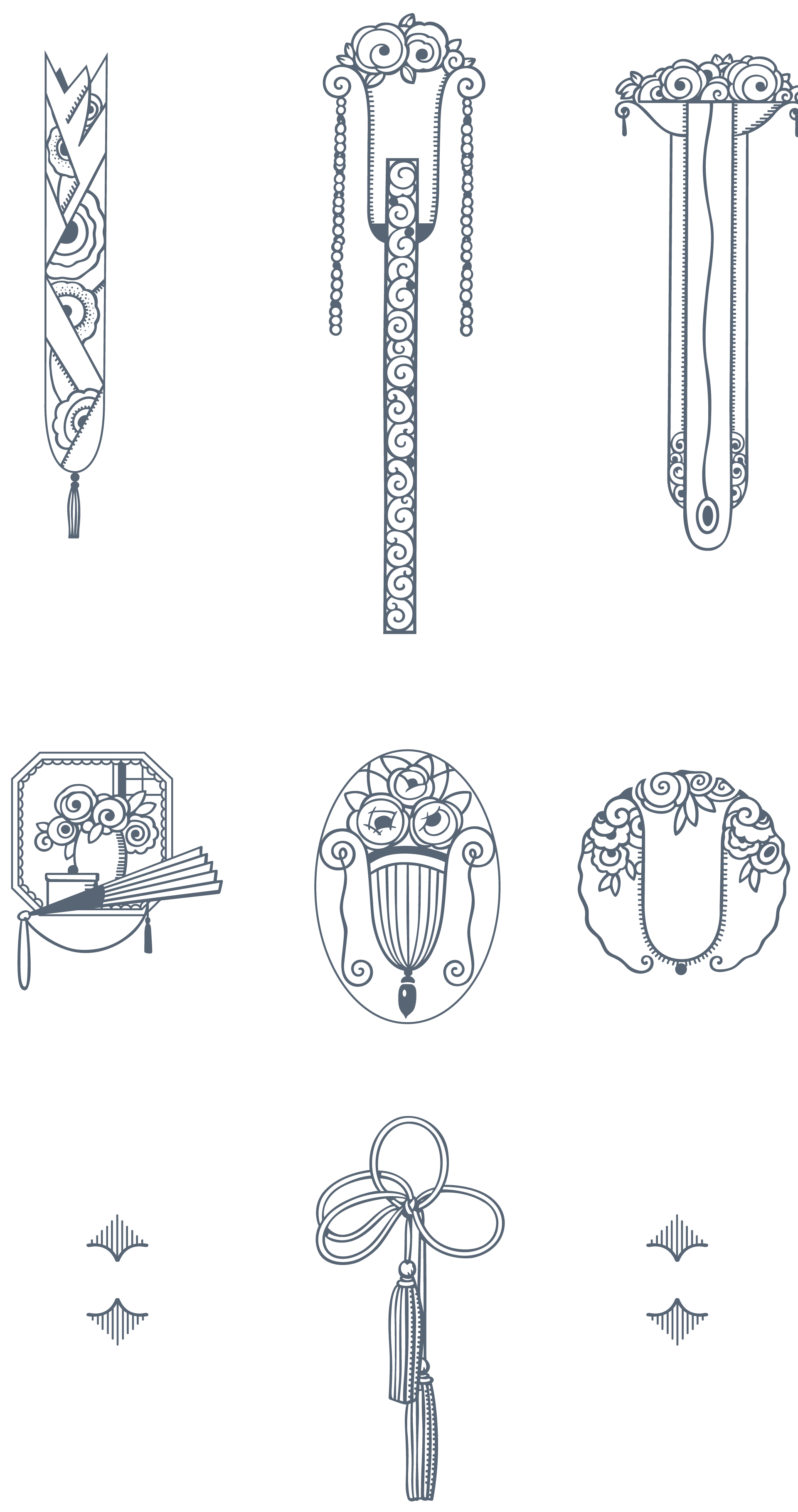 Art deco ornaments - Download 170 Stylized Art Deco Illustrations And Ornaments Vectorized From Genuine Sources Printed In The 1920s They Re The Bee S Knees